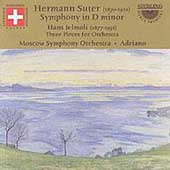 Suter: Symphony in D minor;  Jelmoli: Three Pieces / Adriano