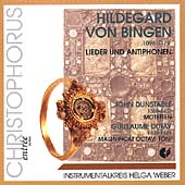 Hildegard von Bingen, Dunstable, Dufay / Helga Weber