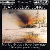 Sibelius: Songs Vol 2 / Monica Groop, Love Derwinger