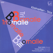 Brahms, Juon, Kahn: Clarinet Trios / Trio Bornalie