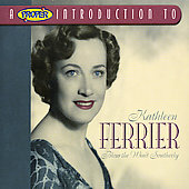 Below the Wind Southerly / Kathleen Ferrier