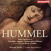 Hummel: Piano Concerto in A, etc / Shelley, et al