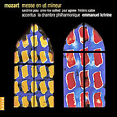 Mozart: Messe en ut mineur / Piau, Sollied, Krivine, et al