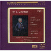 Mozart: Three Divertimenti for Strings / Marriner, ASMF