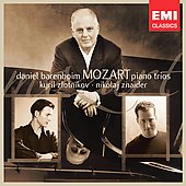 Mozart: Piano Trios / Barenboim, Zlotnnikov, Znaider
