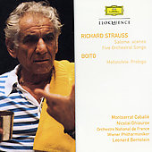 Strauss: Salome (Highlights), Five Orchestral Songs/Boito: Mefistofele (Highligh