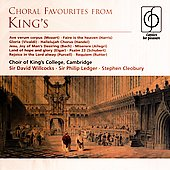 Choral Favourites from King's / Ledger, Willcocks, et al