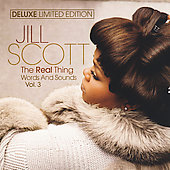 Jill Scott: The Real Thing: Words and Sounds, Vol. 3 [CD/DVD] [Limited]
