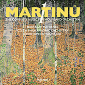 Martinu: The Complete Music for Violin and Orchestra Vol 1