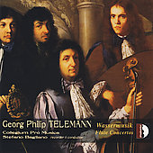 Telemann: Wassermusik & Flute Concertos / Bagliano, et al