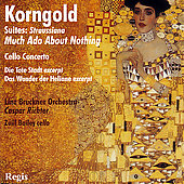 Korngold: Cello Concerto, Suites, etc / Richter, Bailey