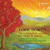 Bowen: Complete Works for Viola and Piano / Power, Crawford-Phillips
