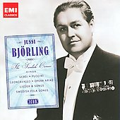 Icon - Jussi Björling, The Swedish Caruso sings Verdi, Puccini, etc