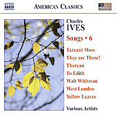 American Classics - Ives: Songs Vol 6 / Berman, Plenk, Phillips, Dickson, et al