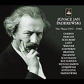 Ignace Jan Paderewski - The 78RPM - Chopin, Debussy, Paganini, Liszt, Schumann, etc