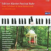 Edition Klavier-Festival Ruhr - Franz Schubert & Neue Klaviermusik