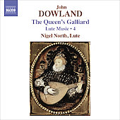 Dowland: Lute Music Vol 4 / Nigel North