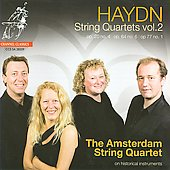 Haydn: String Quartets Vol 2  / Amsterdam String Quartet