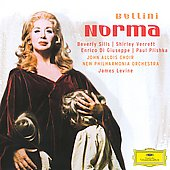 Bellini: Norma / James Levine, Beverly Sills, Shirley Verrett, Enrico Di Giuseppe, Paul Plishka, et al