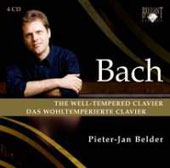 Bach: Well-Tempered Clavier Book 1 & 2 / Pieter-Jan Belder