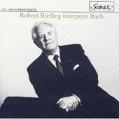 Robert Riefling Interprets Bach