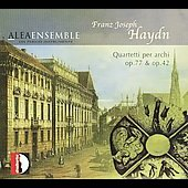 Haydn: String Quartets Op 77 & 42