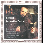 Perosi: Vespertina Oratio; Natalitia