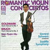 Romantic Violin Concertos - Goldmark, Bruch / Hu, Schwarz