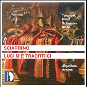 Salvatore Sciarrino: Luci Mie Traditrici, opera in 2 acts / Ens. Algoritmo