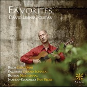 Favorites: works by Bach, Paganini and Britten / David Leisner, guitar