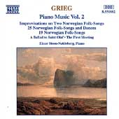 Grieg: Piano Music Vol 2 / Einar Steen-Nökleberg