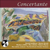 Concertante - works for chamber orchestra by Schiffman, Stunk, Ziffrin, Lifchitz, Martin