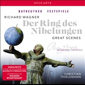 Wagner: Great Scenes from Der Ring des Nibelungen / Bezuyen, Breedt, Dohmen, Konig, Lukas. Christian Thielemann