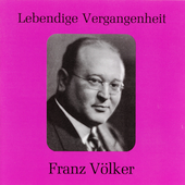 Lebendige Vergangenheit - Franz V&ouml;lker