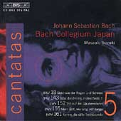 Bach: Cantatas Vol 5 / Suzuki, Bach Collegium Japan