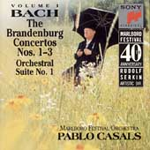 Marlboro Fest 40th Anniversary- Bach: Brandenburg Cti 1-3