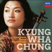 Original jackets Collection - Complete Decca Recordings / Kyung Wha Chung, violin with Krystian Zimerman, Philip Moll, Patrick Gallois,  [20 CDs]