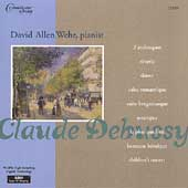 Debussy: 2 Arabesques, Rêverie, etc / David Allen Wehr