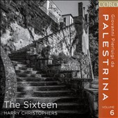 Palestrina, Vol. 6 - Motets; Offertoria; Songs of Songs; De profundis clamavi; Missa L'Homme Armé / The Sixteen, Christophers