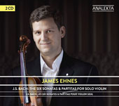 J.S. Bach: The Six Sonatas & Partitas for Solo Violin / James Ehnes, violin