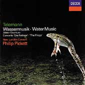 Telemann: Water Music, etc / Pickett, New London Consort