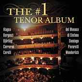 The #1 Tenor Album / Alagna, Bergonzi, Björling, et al