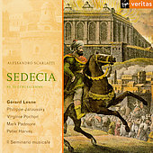 Scarlatti: Sedecia, re di Gerusalemme / Lesne, et al