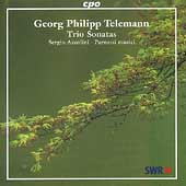 Telemann: Trio Sonatas / Sergio Azzolini, Parnassi Musici