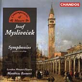 Myslivecek: Symphonies / Bamert, London Mozart Players