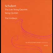 Schubert: Late String Quartets, etc / Lindsay Quartet