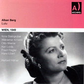 Alban Berg: Lulu / Iiona Steingruber, Maria Cerny, Friedl Riegler, Clas Logau et al. / Vienna 1949, Herbert Hafner