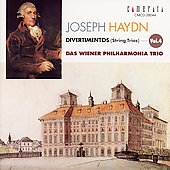 Haydn: Divertimentos Vol 4 / Vienna Philharmonia Trio