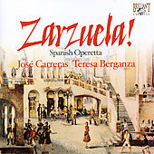 Zarzuela! - Spanish Operetta / Carreras, Berganza, et al