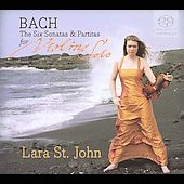 Bach: 6 Sonatas & Partitas for Violin Solo / St. John